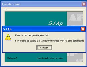 Error_91_en_tiempo_de_ejecucion