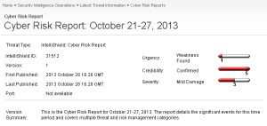 CISCO CyberRiskReport